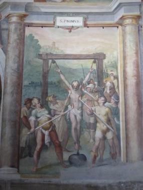 A mural in Aan Stefano (Photo: Nick Boffardi)